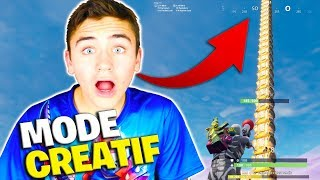 UNE TOUR DE COFFRE !!! - TEST DU MODE CRÉATIF FORTNITE - Néo The One