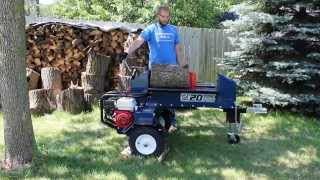 Iron & Oak 20 Ton Dual Action Log Splitter