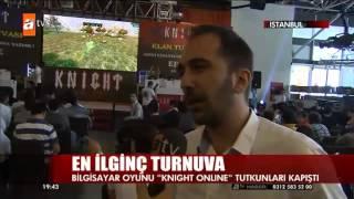 Knight Online 2. Klan Turnuvası Finali ATV Ana Haber'de! Video