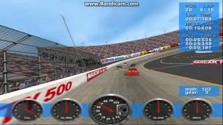 NASCAR Revolution PC Race #32 Gameplay (John Andretti) (Bristol Day) (15 Laps)