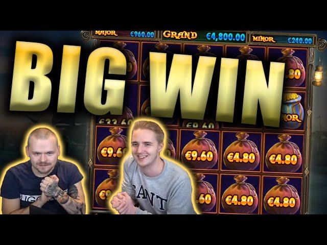 BIG WIN on PIRATE GOLD Slot