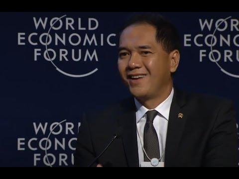Gita Wirjawan - Forum Debat Davos 2014 - Rethinking Technology And Employment