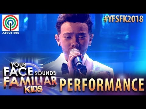 Your Face Sounds Familiar Kids 2018: Krystal Brimner as Sam Smith | Lay Me Down
