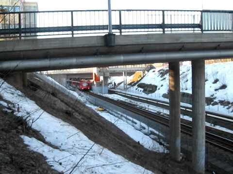 Metro M100 kohti Kontulaa