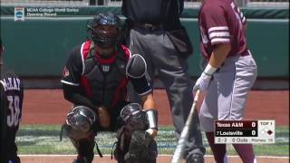 2017 NCAA CWS Baseball Texas A&M vs. Louisville