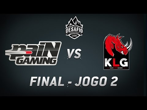 paiN x KLG (Jogo 2) Final do Desafio Internacional