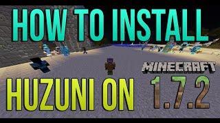 How To Install Huzuni on Minecraft 1.7.10 (Hacked Client: Kill Aura, XRay, etc..)