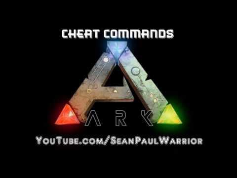 Ark Survival Evolved - DOSSIER CHEAT COMMANDS - feariun.com