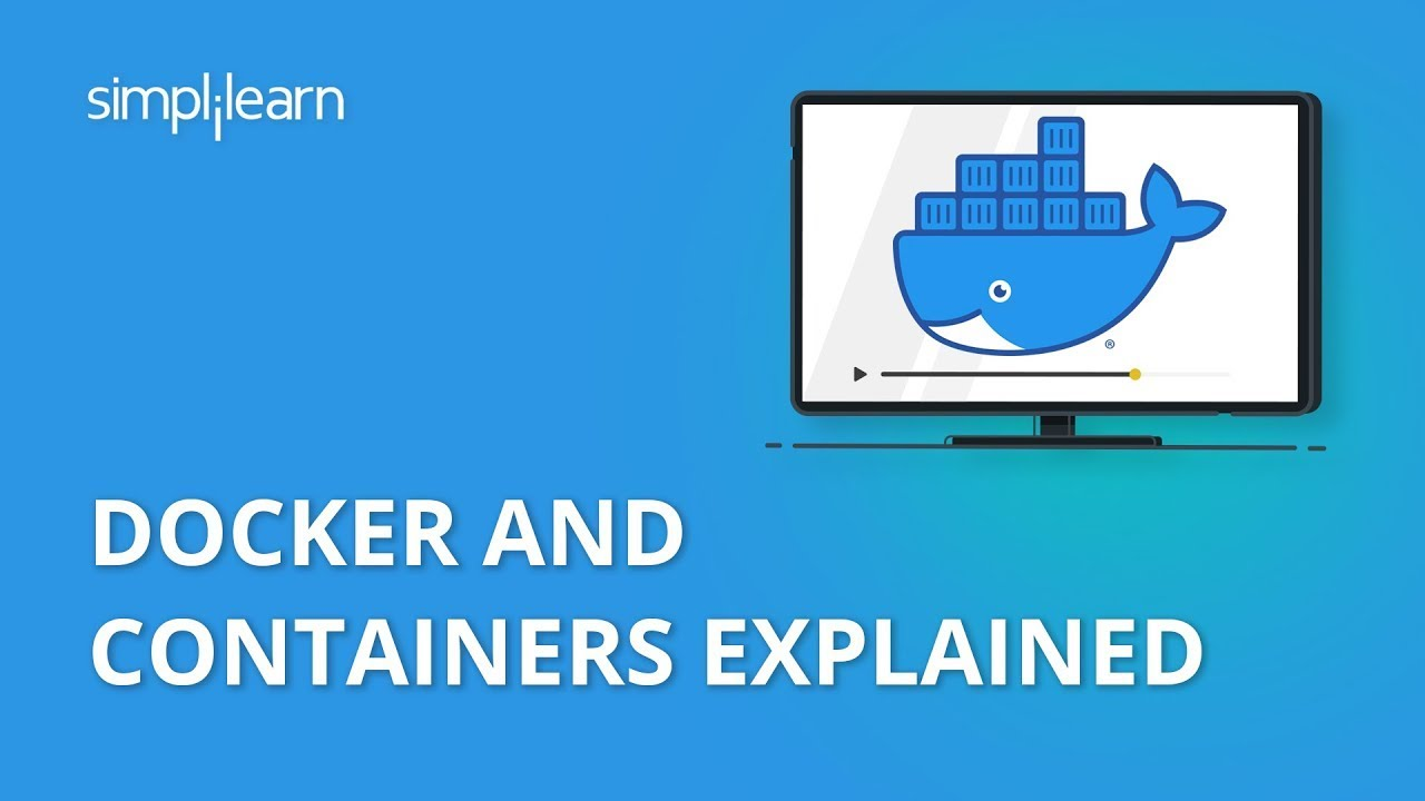 Docker And Containers Explained | Containerization Explained