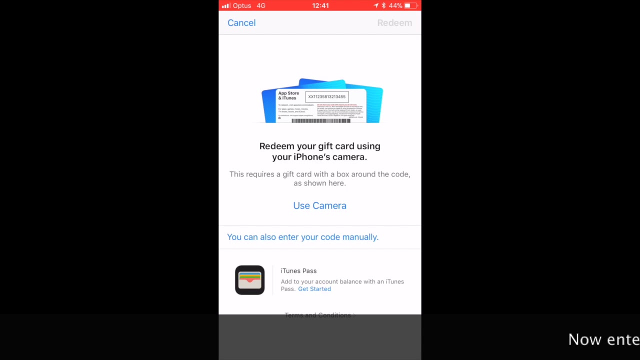 Redeeming A Promo Code On Ios 11