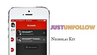 JustUnfollow - Manage Unfollowers For Twitter & Instagram