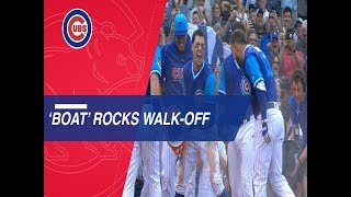 David Bote crushes a mammoth walk-off homer in 10th