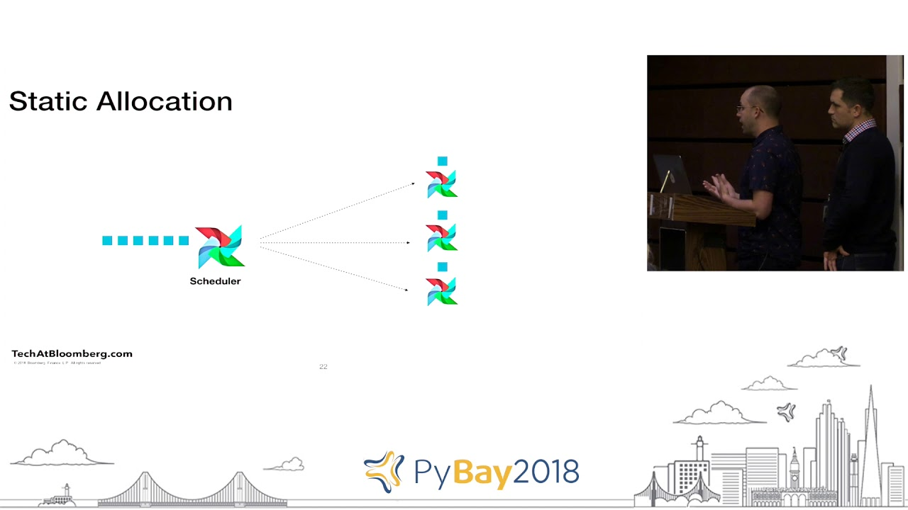 Airflow on Kubernetes - Scaling DAG Workflows | Daniel Imberman, Seth  Edwards @ PyBay2018
