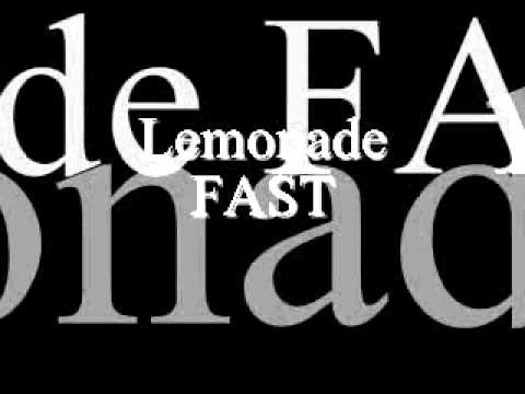 Gucci Mane-Lemonade FAST