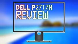 Dell 27 Monitor: P2717H - #Unboxing & #Review