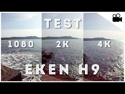 [Test] Eken H9 - 1080p Vs 2K Vs 4K - ActionCam Italia