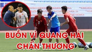 Quang Hải chấn thương, U22 Việt Nam tập chỉ với 6 cầu thủ trước trận gặp U22 Thái Lan | NEXT SPORTS