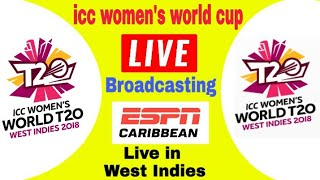 ESPN live broadcasting women's t20 world cup 2018 in west indies