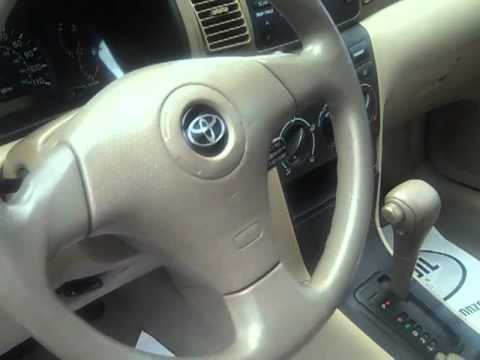 2004 Toyota Corolla For Terri And Brad Youtube