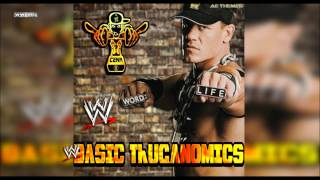 "WWE: ""Basic Thuganomics"" (John Cena) Theme Song + AE (Arena Effect)"
