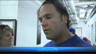 Mike Piazza returns to Mets camp