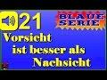Deutscher Spruch auf Arabisch und Englisch #21 (Vorsicht ist besser als Nachsicht)