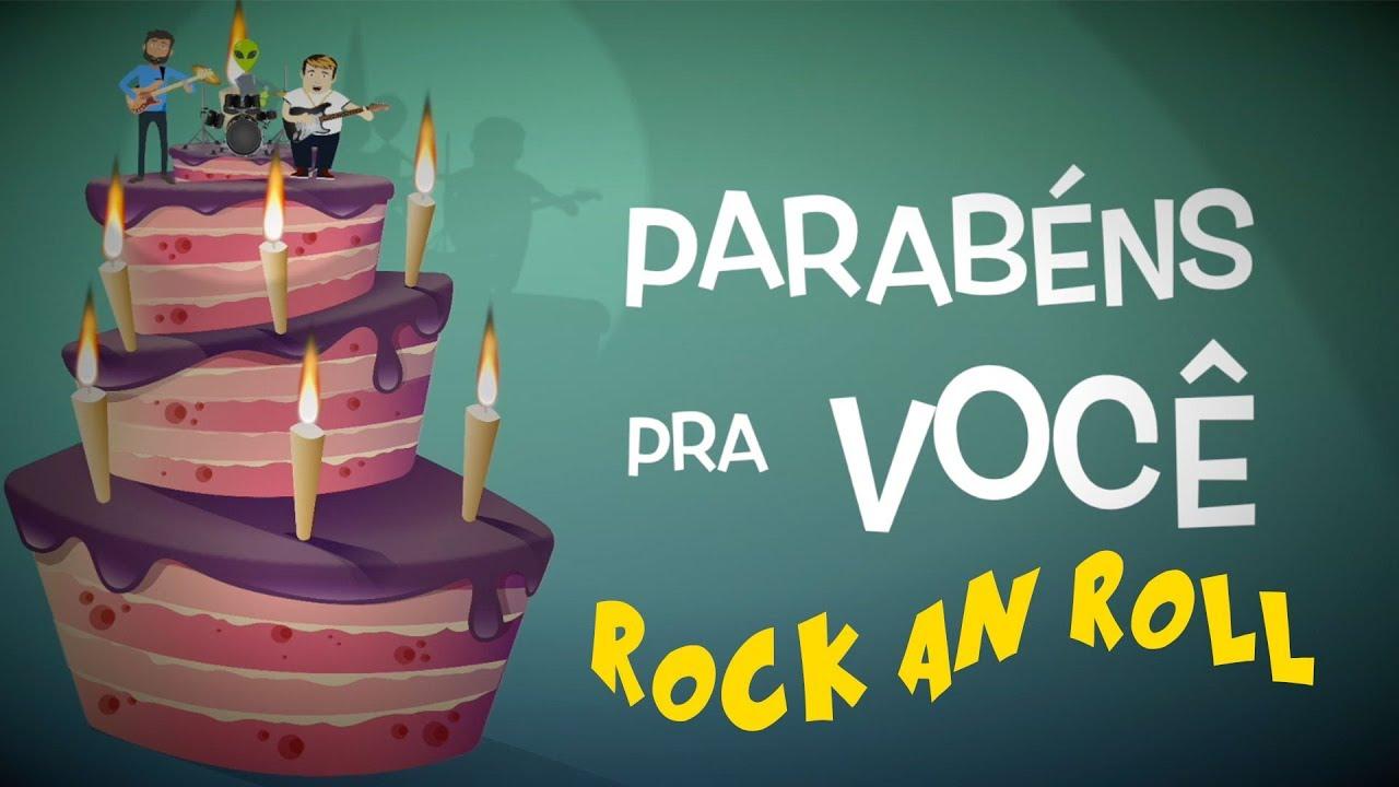 Parabéns Pra Você: Hora Do Parabéns Pra Você - Versão Rock And Roll