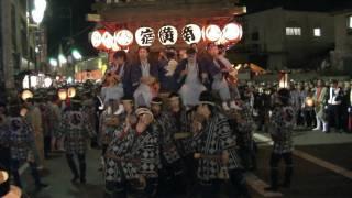 2009年10月10日(土)、佐原の大祭秋祭りの18:30過ぎ、千...