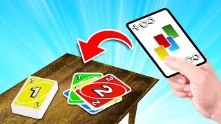 Playing The RAREST CARD In UNO!