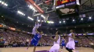 NBA: Robert Covington Rises Over Andre Miller to Throw Down