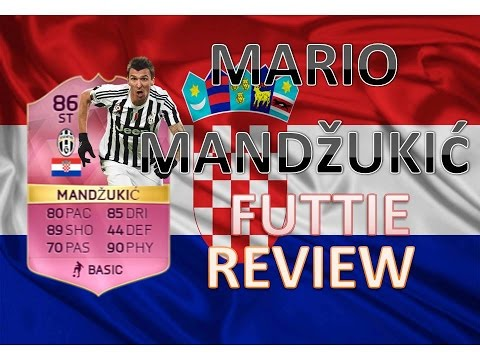MARIO MANDŽUKIĆ FUTTIE FIFA16 PLAYER REVIEW