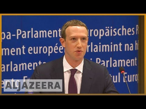 🇪🇺 Facebook's Zuckerberg grilled by EU Parliament over data scandal | Al Jazeera English