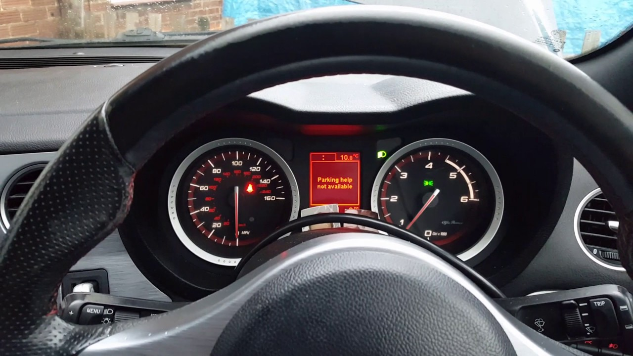 hight resolution of alfa romeo 159 1 9jtdm 2007 limp mode and engine light on p0480 p2009 fault finding and repair