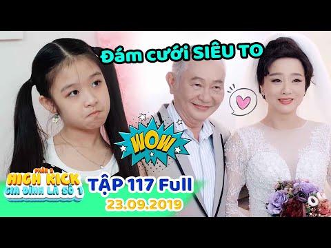 Gia đình là số 1 Phần 2   Tập 117 Full: Lam Chi ''HÓNG HỚT'' đám cưới ''SIÊU TO'' của ông ngoại