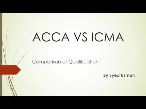 ACCA VS ICMA PAKISTAN