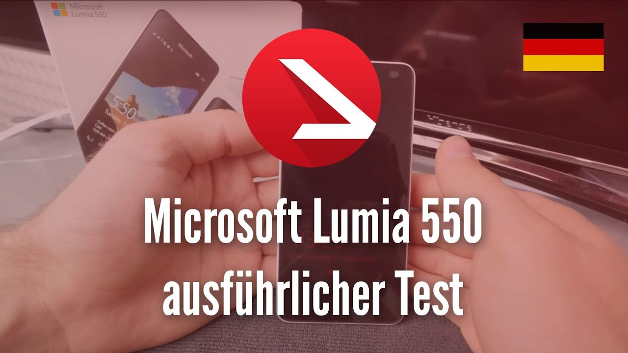 Microsoft Lumia 550 in the Test