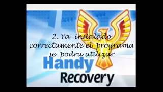 TUTORIAL HANDY RECOVERY