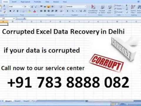 Corrupted Excel Data Recovery in Delhi
