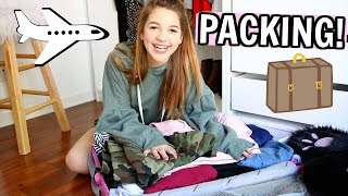 Fashion Try on Haul + Packing for a SURPRISE Trip!