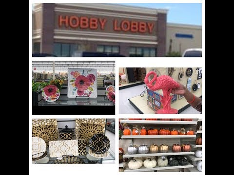HOBBY LOBBY SHOP WITH ME* SUMMER 2017*