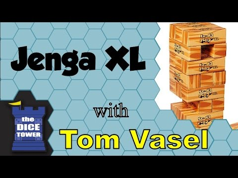 Jenga Xl Review With Tom Vasel Youtube