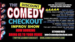 The Discount Comedy Checkout - Adult Improv Show Info