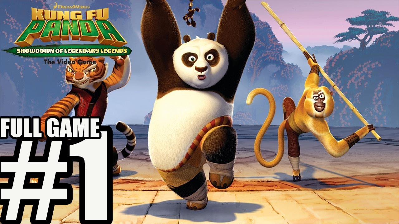kung fu panda showdown of legendary legends gameplay