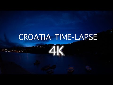 4K Time-lapse | Croatia | Rijeka | Hrvatska | Kvarner | Timelapse