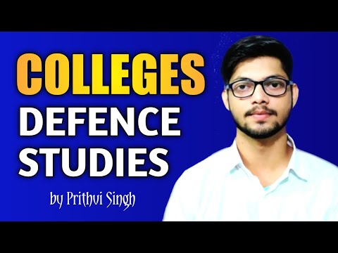 Colleges of Defence Studies in India by Prithvi Singh | Defence and Strategic Studies