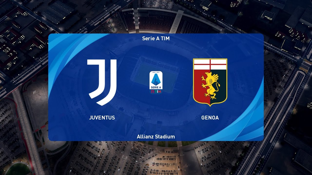 PES 2021 | Juventus vs Genoa - Coppa ...