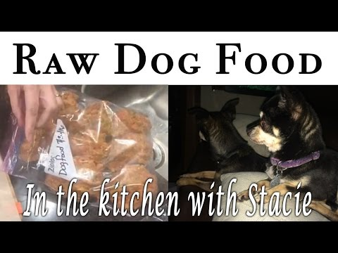 Making Raw Dog Food in the Kitchen with Stacie Overman