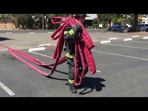 LFD Drill Ground: Denver Load - Single Firefighter Method