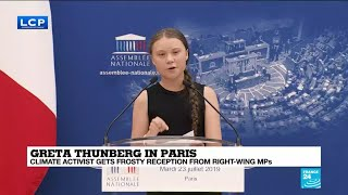 Greta Thunberg: 'These numbers are as real as it gets'