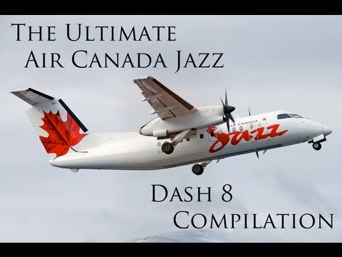 The Ultimate Air Canada Jazz Dash 8 Compilation!